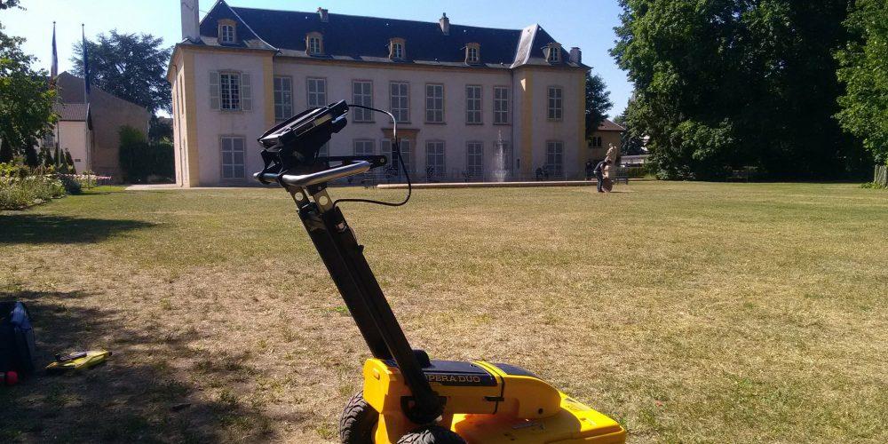 Détections des réseaux Château de Courcelle